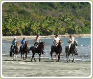 Horseback riding tour at Finca Los Caballos Nature Hotel, Costa Rica